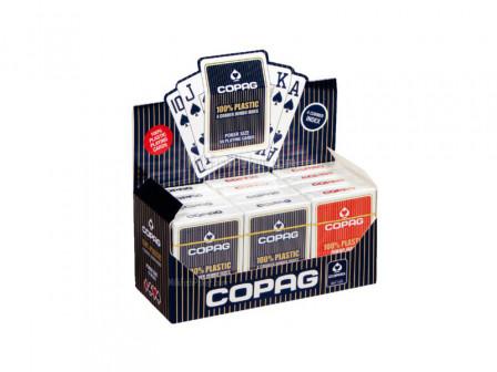 Copag Spielkarten 12 Pack Rot und Blau