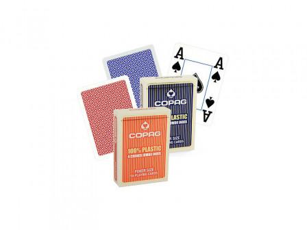 Copag Spielkarten 6 Pack Rot und Blau