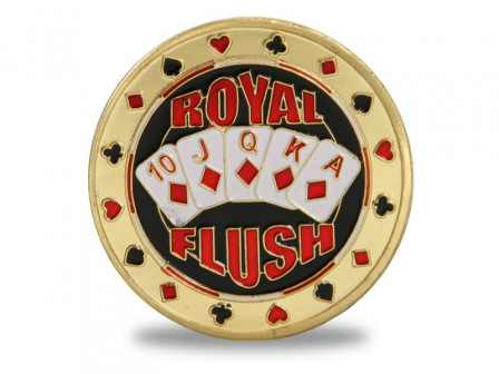 Hochwertiger Card Protector Royal Flush