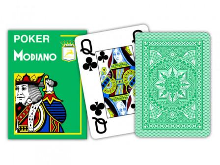 Modiano Spielkarten Jumbo Index Grün