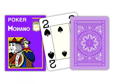 Modiano Spielkarten Jumbo Index Lila