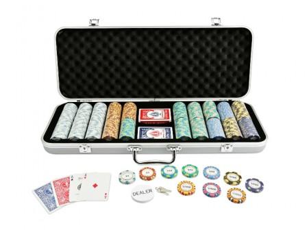 Pokerset Monte Carlo Poker Club 500