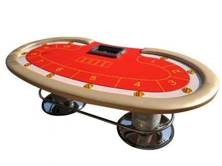 Exclusiver Casino Cashgame Bean Pokertisch Gold