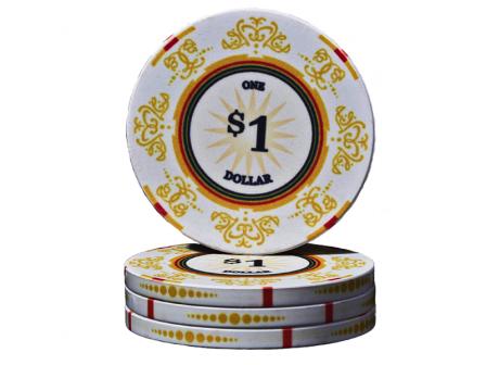 Keramik Venerati Poker Chip $ 1