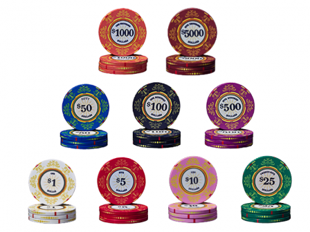 Keramische Venerati Poker Chips Pokerset 300