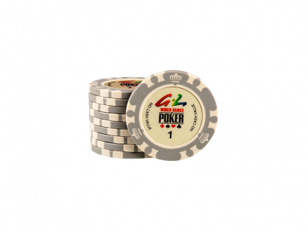 World Games Of Poker Chip 1