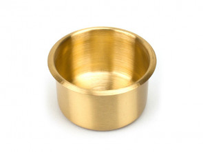 Extra Grosser RVS Cupholder 89 mm Gold
