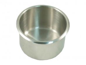 Extra Grosser RVS Cupholder 89 mm Silber