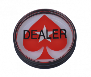 Dealer Button mit Pokerstars Logo