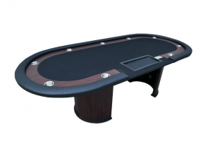 Cashgame Pokertisch Combo Black mit Chiptray