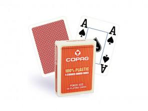 Copag Spielkarten Jumbo Index Rot