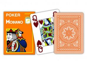 Modiano Spielkarten Jumbo Index Orange