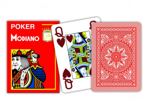 Modiano Spielkarten Jumbo Index Rot