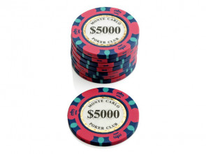 Monte Carlo Poker Club Pokerchip $ 5000
