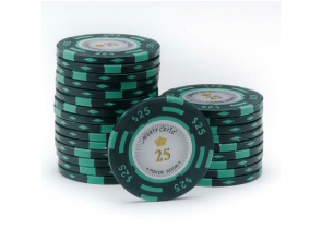 Monte Carlo Poker Room Pokerchip 25