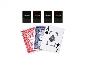 Poker Spielkarten Poker Club Blau