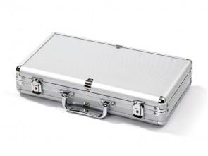 Pokerkoffer für 300 Pokerchips aus Aluminium