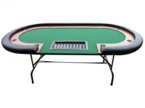 Hochwertiger Poker Turnier Tisch Shanghai Red