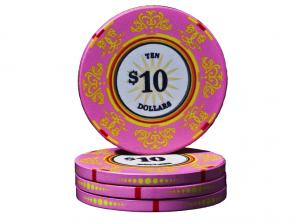 Keramische Venerati Poker Chip $ 10