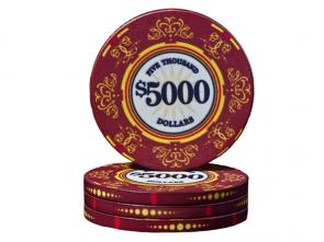 Keramische Venerati Poker Chip $ 5000