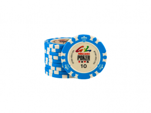 World Games Of Poker Chip 10