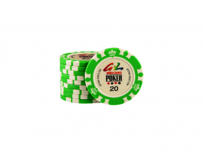 World Games Of Poker Chip 20