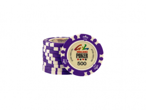 World Games Of Poker Chip 500