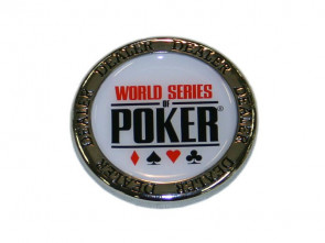 WSOP Dealer Button